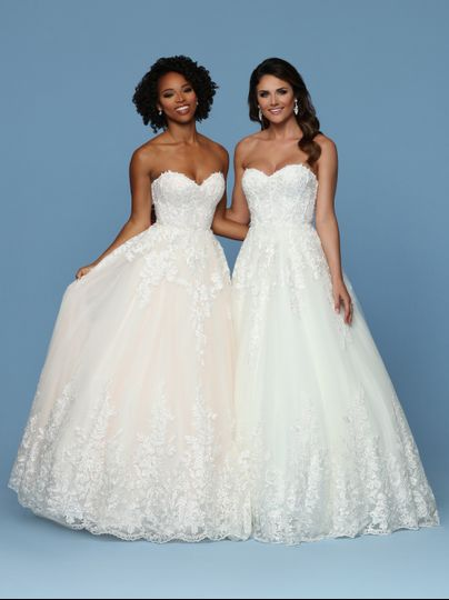 Lace & soft tulle