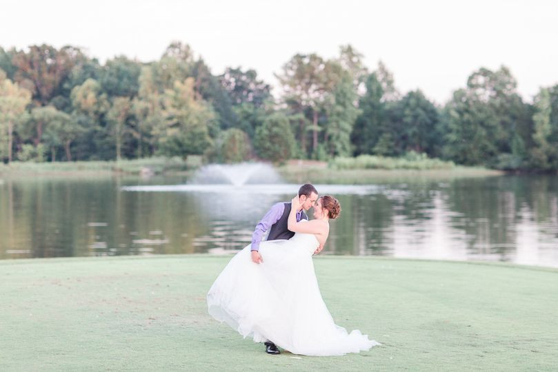 Katie & Tyler by the lake