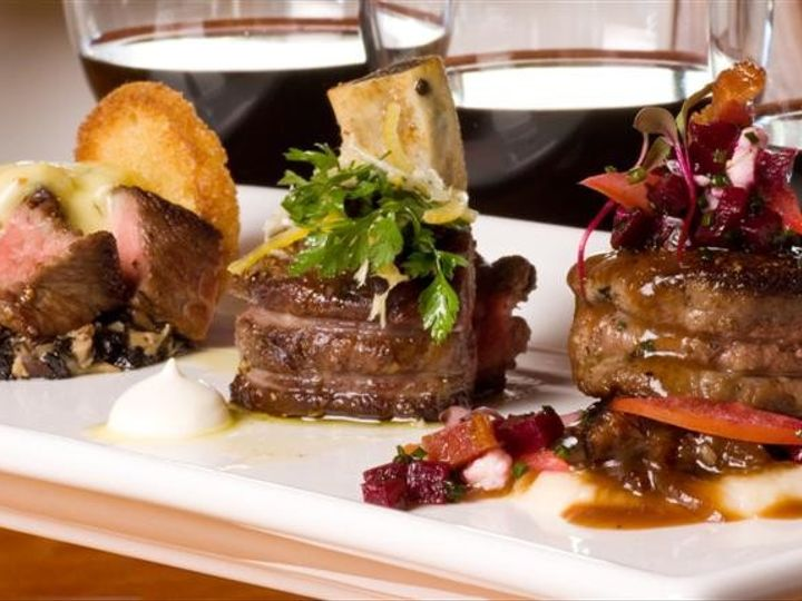 Tmx 1394567287555 Starks Steakhouse Beef Burgundy Bordeaux And Barol Santa Rosa wedding catering