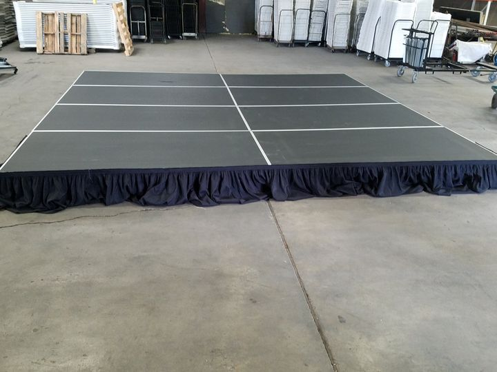 Tmx Indoor Only Stage New 10 5 Inch 51 694022 Wichita, KS wedding rental