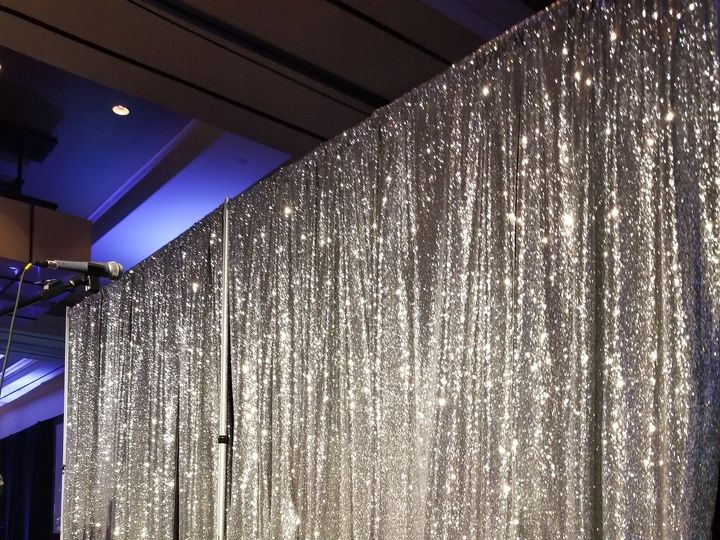 Tmx Silver Sequin Backdrop 51 694022 Wichita, KS wedding rental
