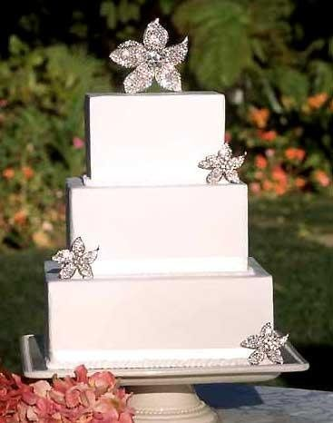 Tmx 1229995037712 Cake Topper Rhinestone Flower Huntington Station wedding planner