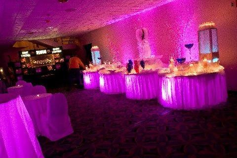 Tmx 1238040401533 PinkTableuplightingHuntingtonHilton Huntington Station wedding planner