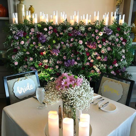 fireplace flower wall 51 577022 1561577002