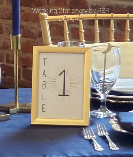 Table number (single/double)