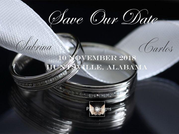 Tmx 1527999037 0042e30c885b68dd 1527999036 902518152e5b1642 1527999028244 1 Double Bands Save  Indianapolis, IN wedding invitation