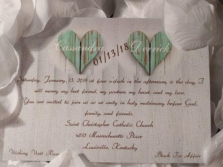 Tmx 1528001033 Fca6e60f1f9d436e 1528001032 E946d8166eb22e67 1528001028889 9 33777442 102118326 Indianapolis, IN wedding invitation