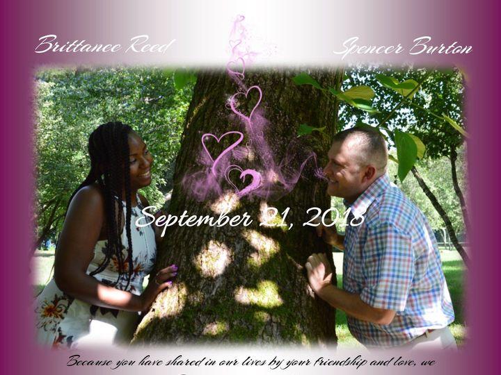 Tmx 1530999884 E99768a03cbe58f2 1530999883 401e239262103c44 1530999881672 1 Brittanee And Spen Indianapolis, IN wedding invitation