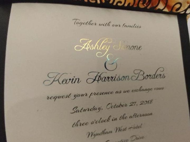 Tmx 1532823863 C31effae4496fef6 1532823862 054f39c86911caf6 1532823859035 1 37912013 109241530 Indianapolis, IN wedding invitation