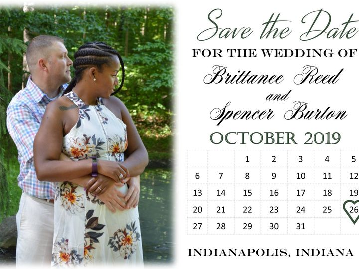 Tmx 1536026867 54baa3526d1e67bd 1536026866 1ed702dc5be1f96a 1536026865862 1 Simple Photo Save  Indianapolis, IN wedding invitation