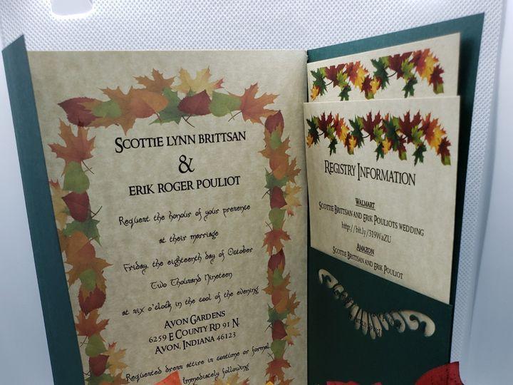 Tmx 20190715 215417 51 1008022 1563245585 Indianapolis, IN wedding invitation