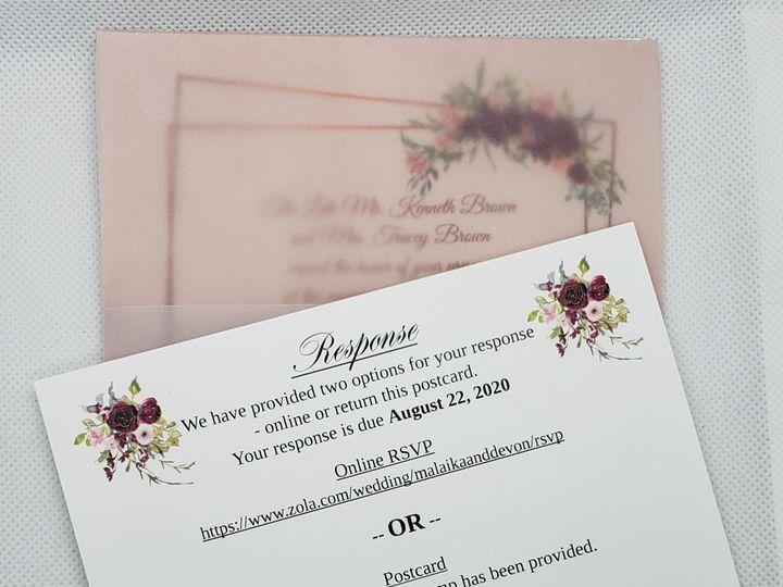 Tmx Blush Set With Invitation And Rsvp 51 1008022 159577099023295 Indianapolis, IN wedding invitation