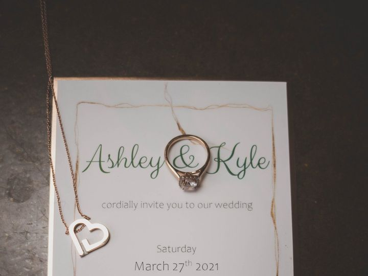 Tmx Candy Apple Green And Rose Gold Invitation 1 51 1008022 161136986127923 Indianapolis, IN wedding invitation