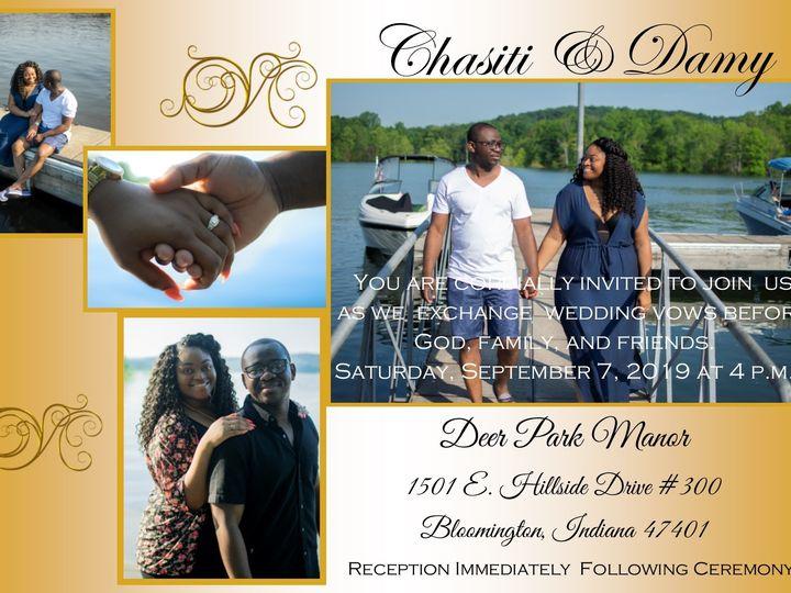 Tmx Chasiti And Damy Multiple Pics On One Final Pub 51 1008022 158302077595000 Indianapolis, IN wedding invitation