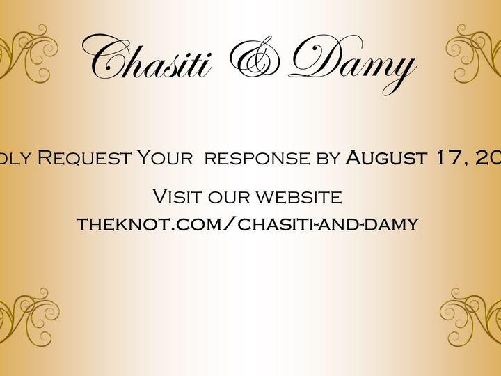 Tmx Chasiti And Damy Rsvp Final 51 1008022 158302077527200 Indianapolis, IN wedding invitation