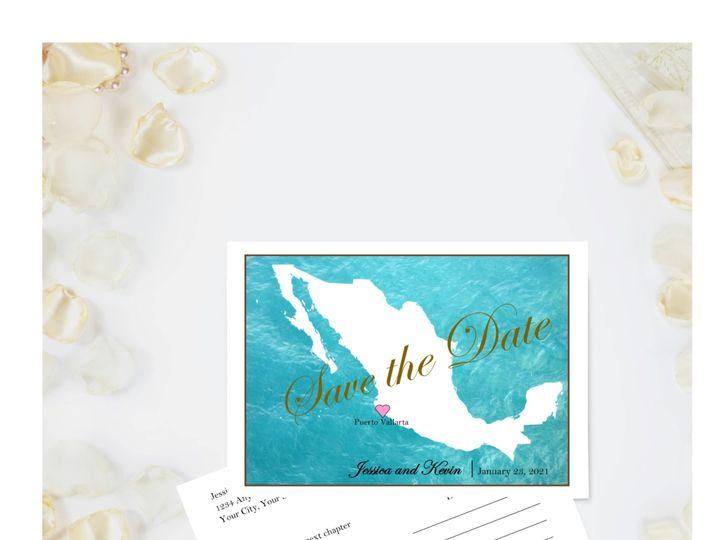Tmx Destination Save The Date 03122020 51 1008022 158407070369713 Indianapolis, IN wedding invitation