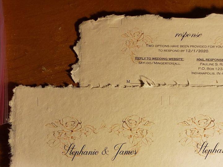 Tmx Gold Floral Invitation Suite 51 1008022 160391715691970 Indianapolis, IN wedding invitation
