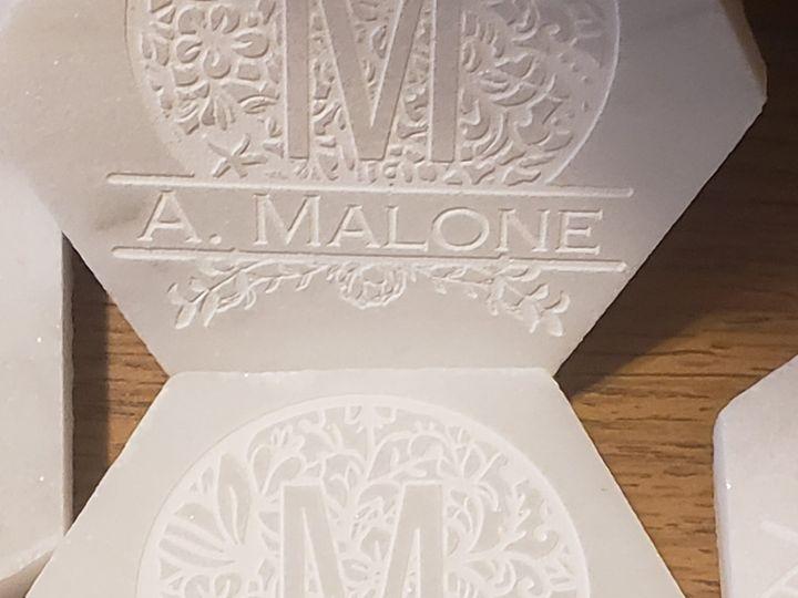 Tmx Laser Monogrammed Coasters 51 1008022 161689588084411 Indianapolis, IN wedding invitation