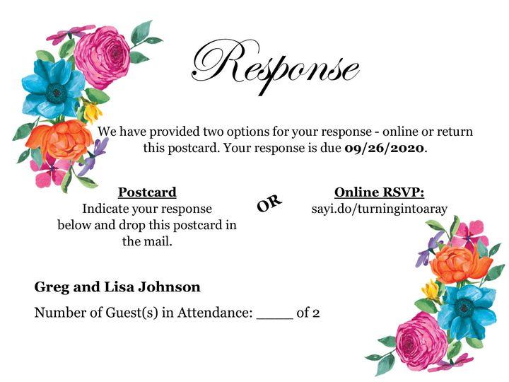 Tmx Postcard Rsvp 51 1008022 158776904866107 Indianapolis, IN wedding invitation