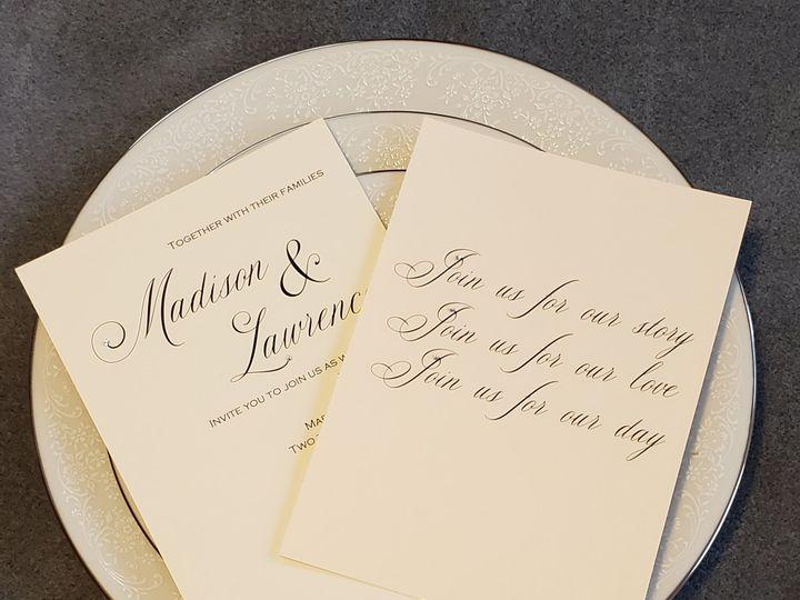 Tmx Serene Love 2 51 1008022 161438745240363 Indianapolis, IN wedding invitation