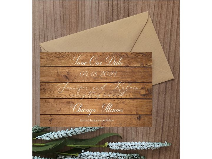 Tmx Simple Rustic Save The Date 51 1008022 159453896421716 Indianapolis, IN wedding invitation