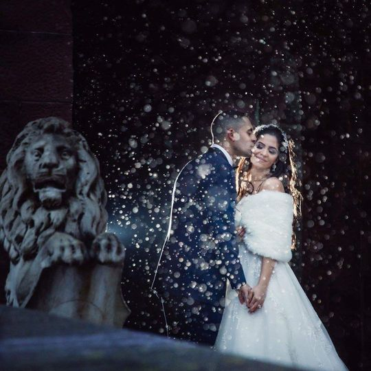 Snow day in love
