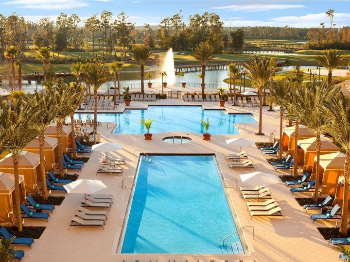 Tmx 1414508970913 Waldorf Astoria Orlando Pool Orlando, FL wedding venue