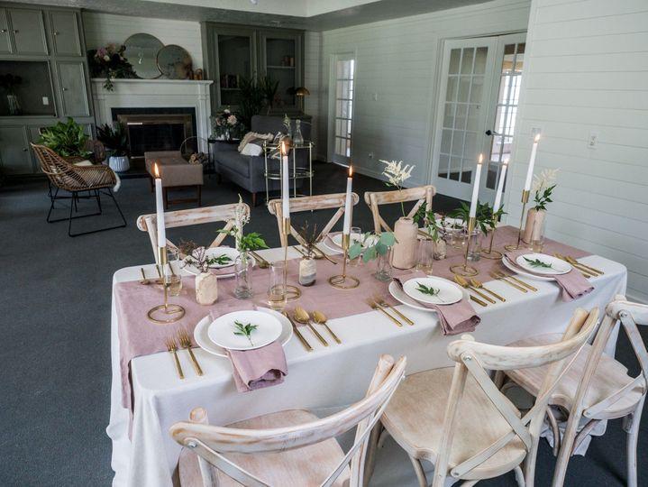 Serenity Rose Farmhouse & Event Space in Conroe, TXDesign: Melanie AbrantesPhoto: Eric Velado Linens...