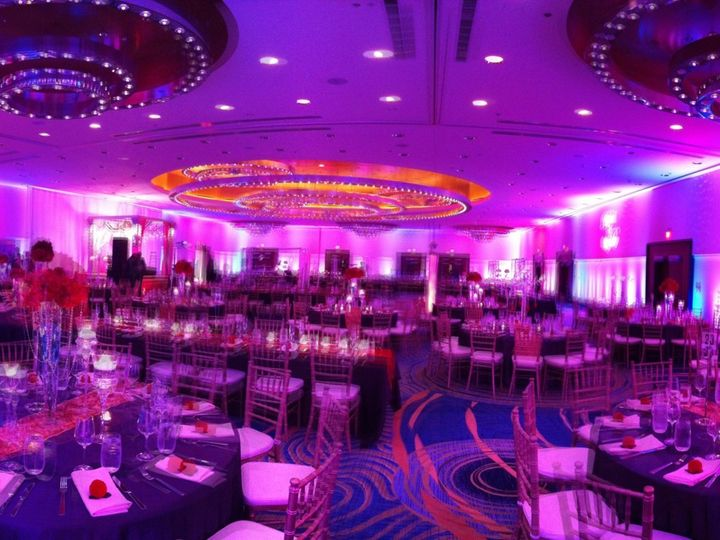 Tmx 1429320813802 Marriottarlington Pink Uplighting Herndon, District Of Columbia wedding eventproduction