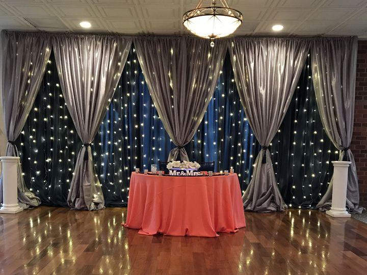 Tmx 1519154517 8263e1920d190375 1519154514 Ccc36425a90f8b9e 1519154513457 8 Drape Navy Silver  Herndon, District Of Columbia wedding eventproduction