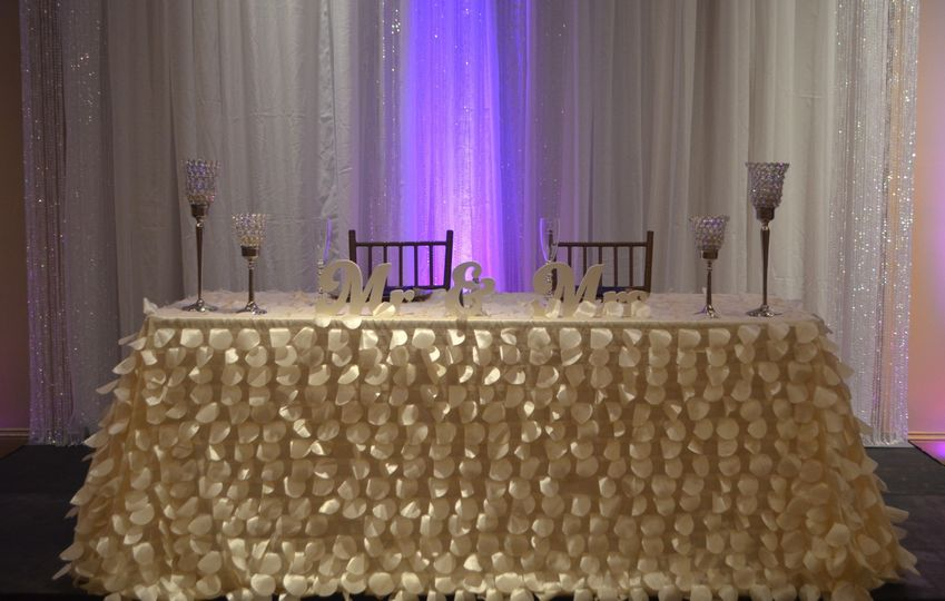 newlyweds table