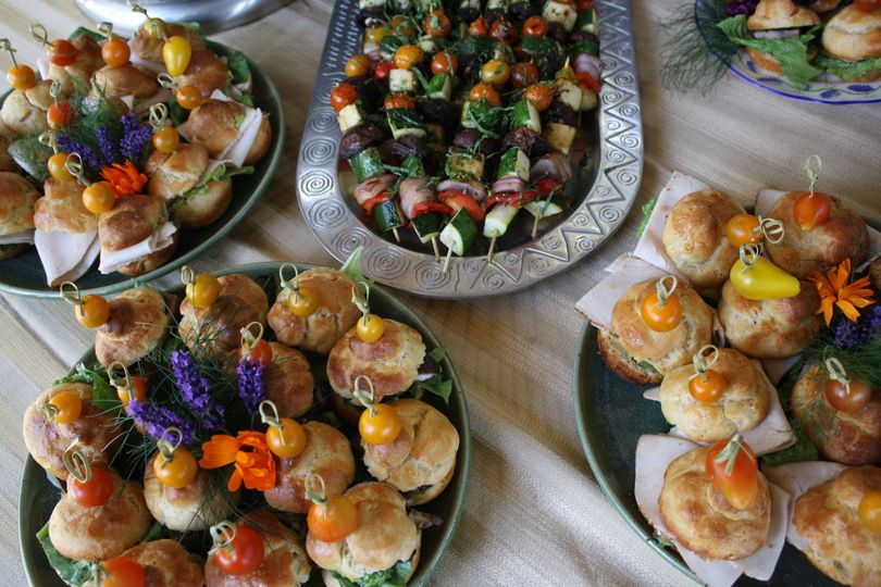 On-site catering through Coho Restaurant