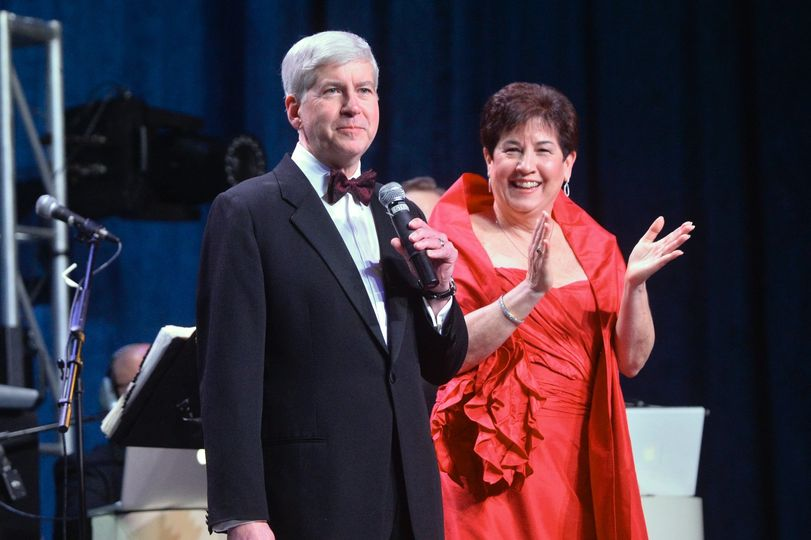 Governor Snyder and First Lady