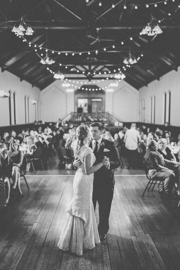 Frist dance in the Great Hall