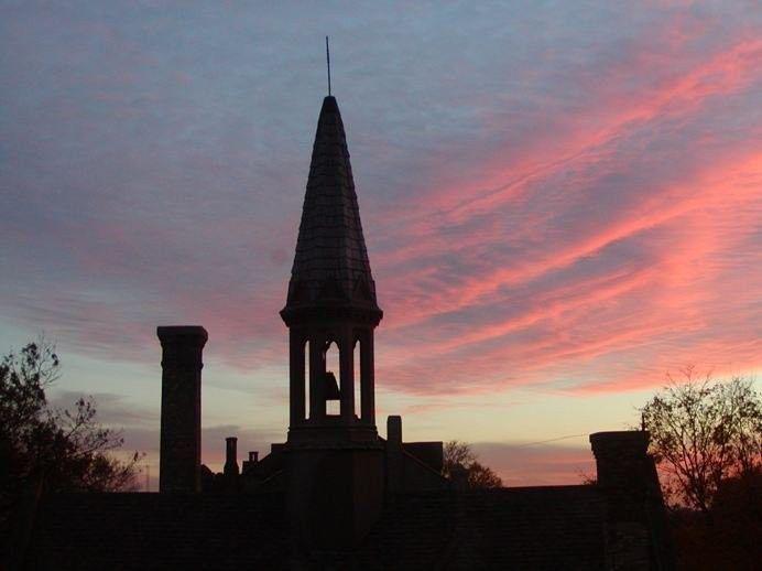 Dekoven Center's bell spire