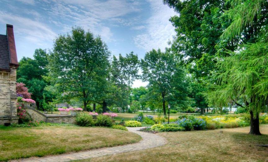 Dekoven Center's gardens