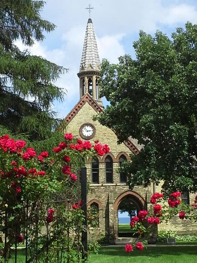 bell tower with roses 51 51122 158584975095499