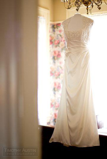 dress hangin