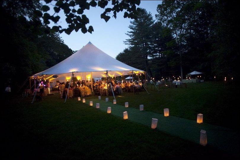 Out Door Tent Wedding