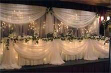 Missouri Wedding Officiants-  Reception Set Up for VIP Wedding Party
