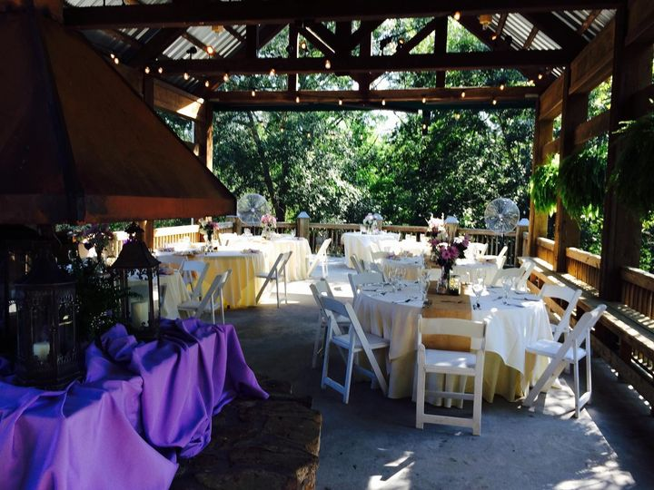 Dos Eddies Acoustic Duo providing music for a wedding reception at River Lodge. (River Landing...
