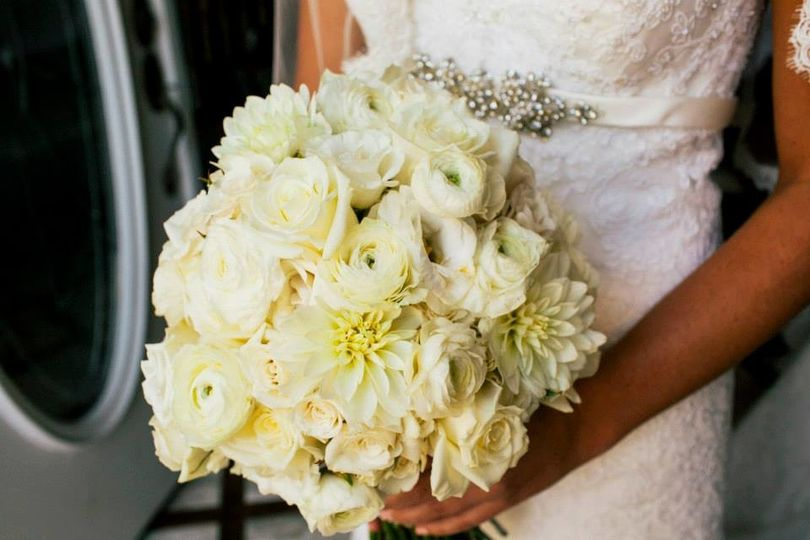Soft yellow bouquets