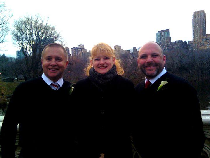 Tmx 1418677867733 121611 Chris  John Annie2 New York, NY wedding officiant