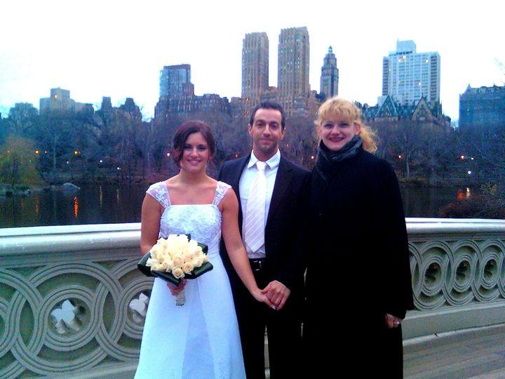 Tmx 1418677876309 121611 Sarah  Anthony Annie2b New York, NY wedding officiant