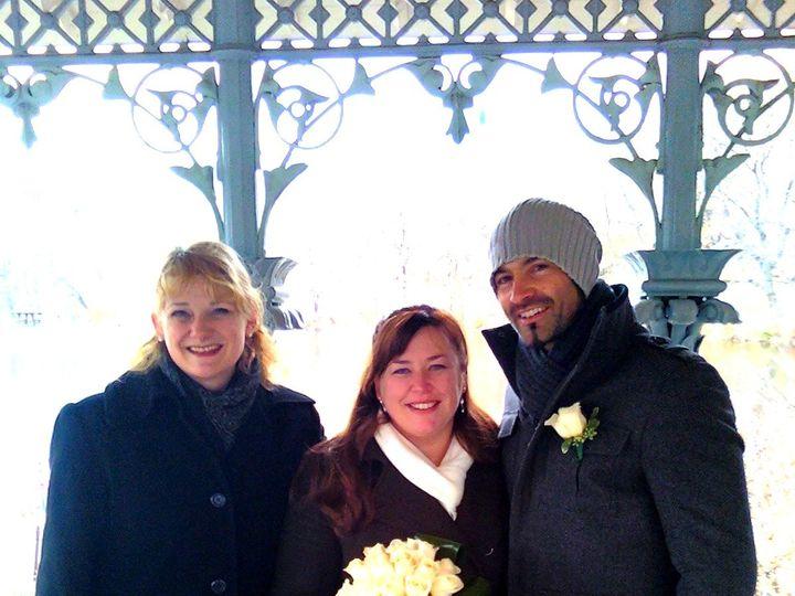 Tmx 1418677968602 122011a Kerry  Shaun  Annie2 New York, NY wedding officiant