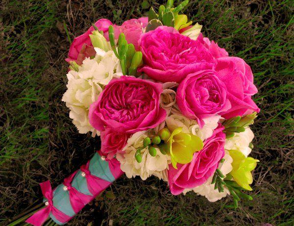 Tmx 1298345180062 Hpyellowbluebokay Tulsa wedding florist