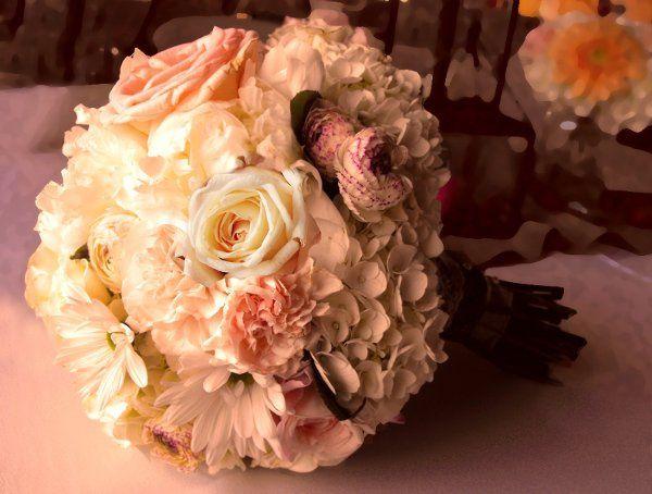 Tmx 1298345676781 Creampeachbouquet Tulsa wedding florist
