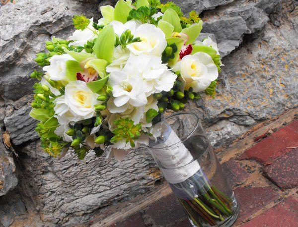 Tmx 1299555194766 Greenbokaygrncymbidium Tulsa wedding florist