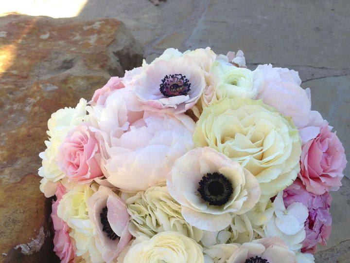 Tmx 1475539104407 Blush Anemone Bouquet Tulsa wedding florist