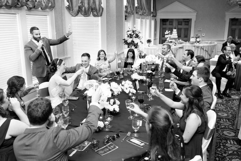 Toast for the newly wed